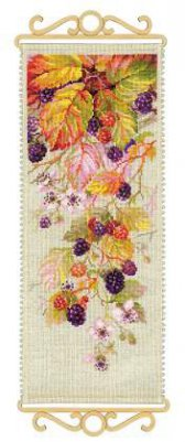 click here to view larger image of Blackberry (counted cross stitch kit)