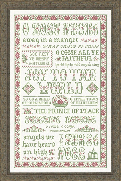 click here to view larger image of Hymns of Christmas (chart)