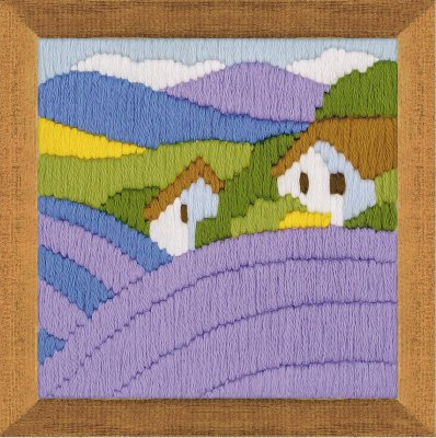 click here to view larger image of Lavender (counted cross stitch kit)