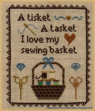 click here to view larger image of A Tisket A Tasket (chart)
