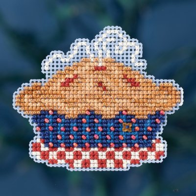 click here to view larger image of American Pie (counted cross stitch kit)