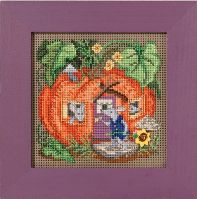 click here to view larger image of Mouse House (counted cross stitch kit)