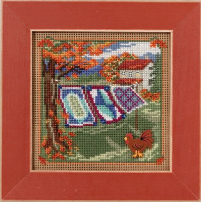 click here to view larger image of Country Quilts (counted cross stitch kit)