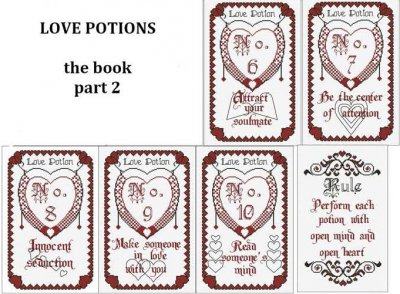 click here to view larger image of Book Of Love Potions, The - Part 2 (chart)