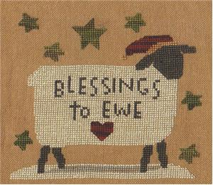 click here to view larger image of Blessings To Ewe (chart)