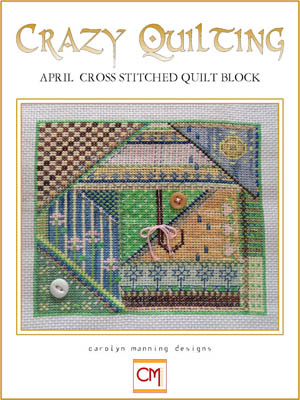 click here to view larger image of Crazy Quilting - April Block (chart)