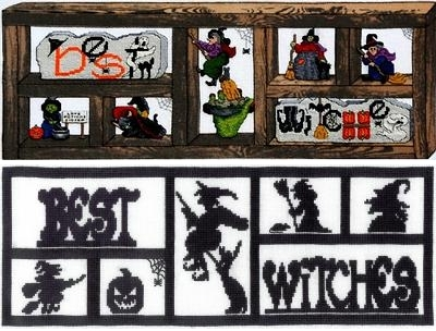 click here to view larger image of Best Witches (chart)