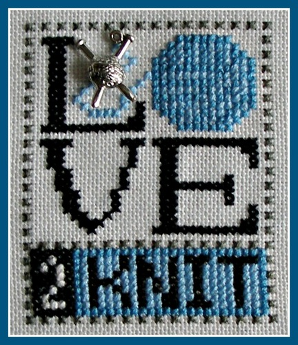 click here to view larger image of Love Bits - Love 2 Knit (chart with charms/buttons)