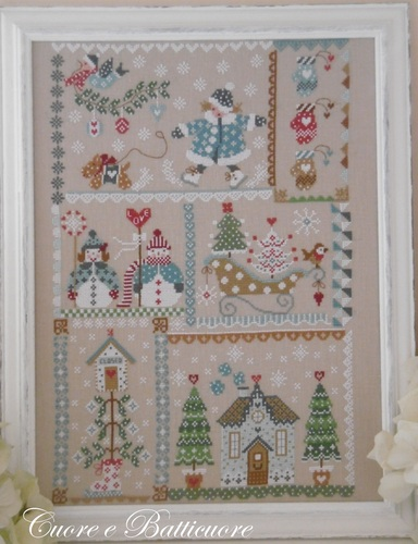 click here to view larger image of Winter in Quilt (chart)