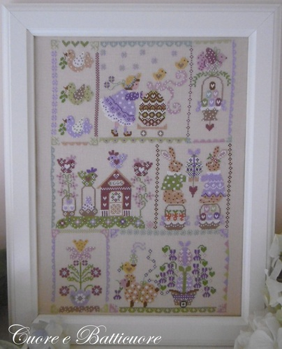 click here to view larger image of Easter in Quilt (chart)