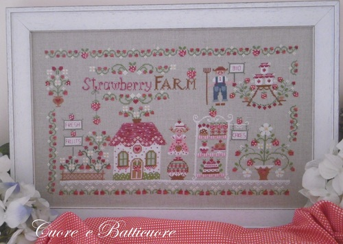 click here to view larger image of Strawberry Farm (chart)