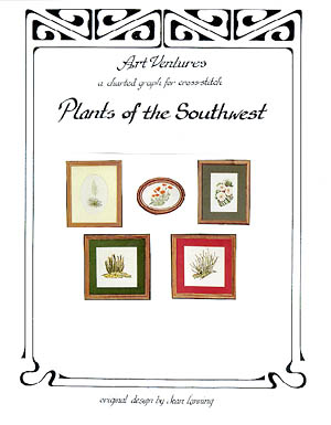 click here to view larger image of Plants Of The Southwest (chart)