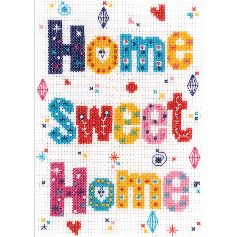 click here to view larger image of Home Sweet Home (counted cross stitch kit)