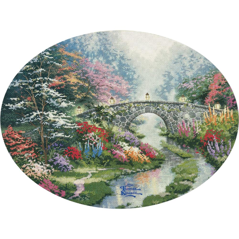 click here to view larger image of Still Water Bridge - Embellished Cross Stitch Kit (embellished cross stitch kit)