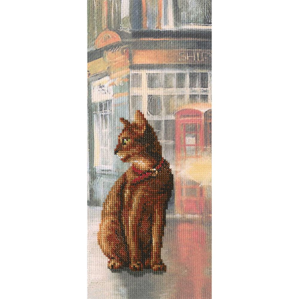 click here to view larger image of Cats In Town I (counted cross stitch kit)