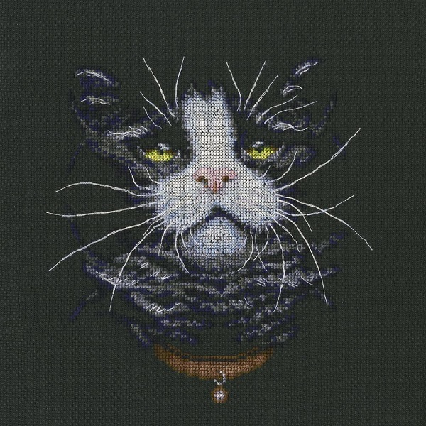 click here to view larger image of Cats Favourite (counted cross stitch kit)