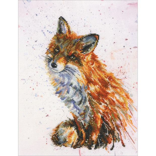 click here to view larger image of Foxy (counted cross stitch kit)