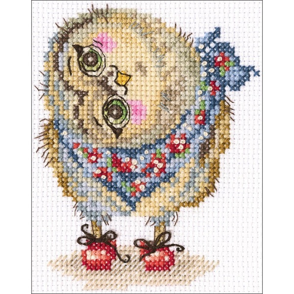 click here to view larger image of What A Wonderful World (counted cross stitch kit)