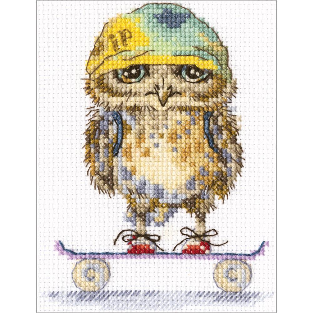 click here to view larger image of Skater (counted cross stitch kit)