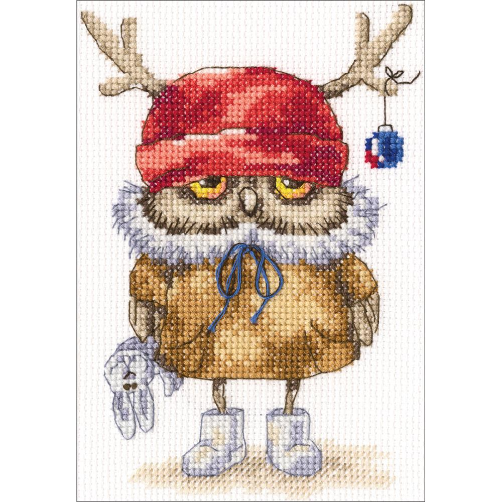 click here to view larger image of Ready For The New Year (counted cross stitch kit)