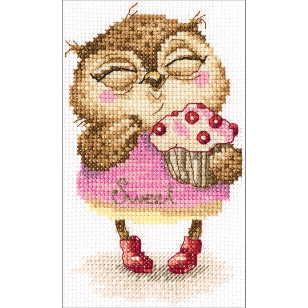 click here to view larger image of Sweet Tooth (counted cross stitch kit)
