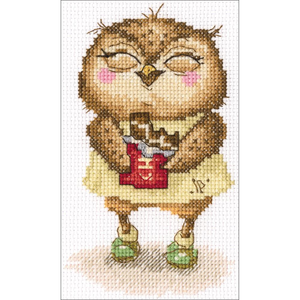 click here to view larger image of Chocolate Bits (counted cross stitch kit)