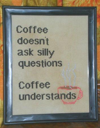 click here to view larger image of Coffee Understands (chart)
