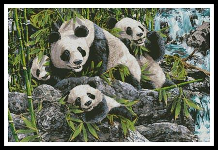 click here to view larger image of 12 Pandas  (Steven Michael Gardner) (chart)
