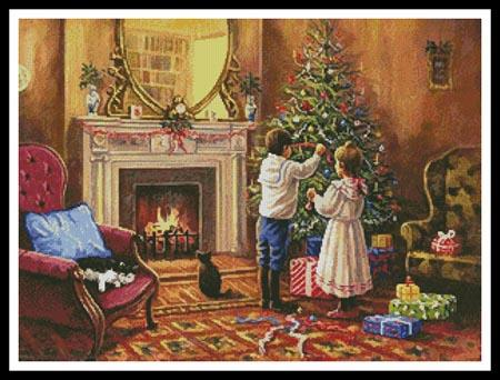 click here to view larger image of Christmas Interior  (Kevin Walsh) (chart)