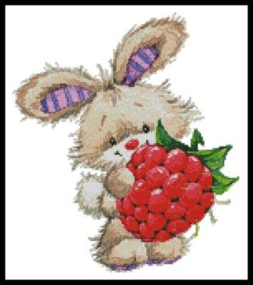 click here to view larger image of Berry Cute Rabbit (chart)