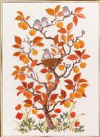 click here to view larger image of Autumn Tree (counted cross stitch kit)