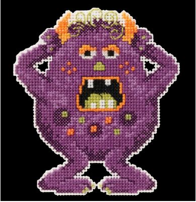 click here to view larger image of Freckles - Little Monsters Trilogy (counted cross stitch kit)