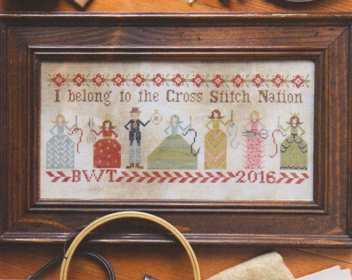 click here to view larger image of Cross Stitch Nation (chart)