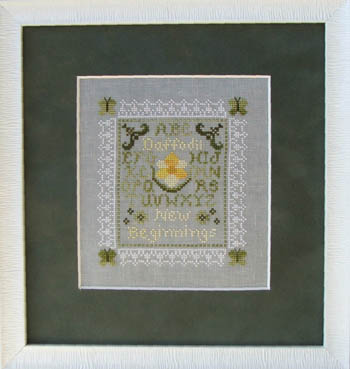 click here to view larger image of Tiny Daffodil Sampler (chart)
