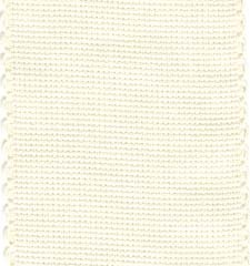 click here to view larger image of Ivory With Scallopped Border Cotton Banding - 16ct (Yard) (Banding)