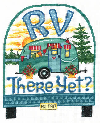 click here to view larger image of RV There Yet - kit (counted cross stitch kit)