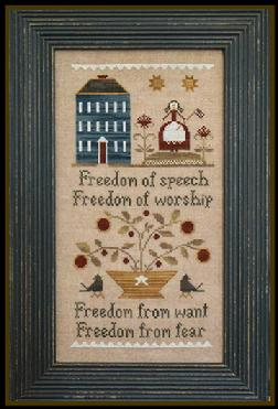 click here to view larger image of Four Freedoms (chart)