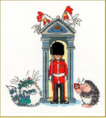 click here to view larger image of London On Parade (counted cross stitch kit)