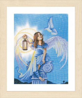 click here to view larger image of Angel In The Night (counted cross stitch kit)