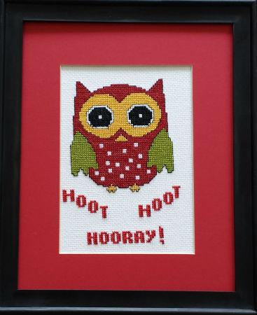 click here to view larger image of Hoot Hoot Hooray (chart)