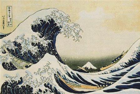 click here to view larger image of Great Wave Off Of Kanagawa, The (chart)