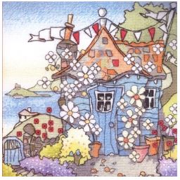 click here to view larger image of DownThe Garden Path (counted cross stitch kit)