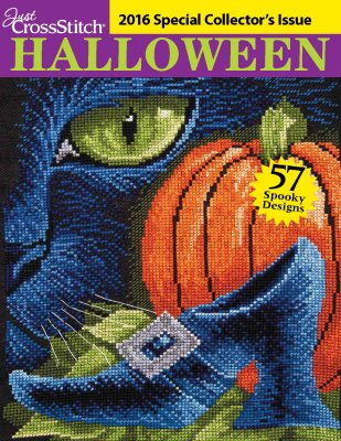 click here to view larger image of Just Cross Stitch - 2016 Halloween Collectors Issue (magazines)
