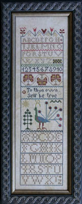 click here to view larger image of Peacock Band Sampler (chart)
