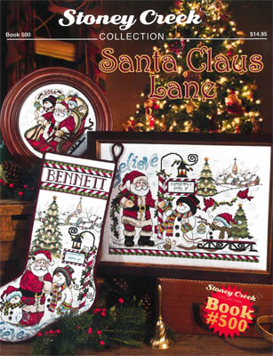 click here to view larger image of Santa Claus Lane (book)