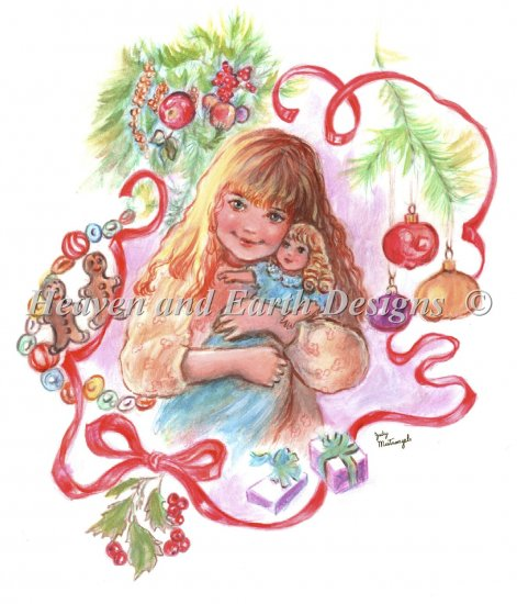 click here to view larger image of Little Girls Christmas (chart)