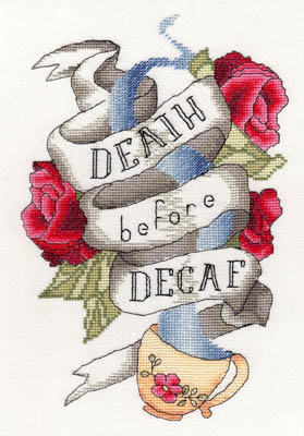 click here to view larger image of Death Before Decaf (chart)