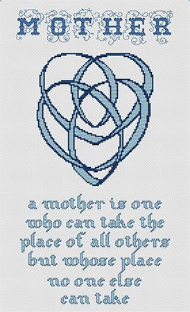 click here to view larger image of Celtic Mothers Knot (chart)