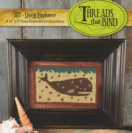 click here to view larger image of Deep Explorer (Punchneedle) (Punchneedle)