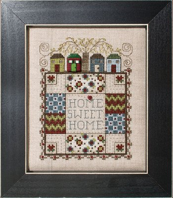 click here to view larger image of Quilted With Love 1 - Home Sweet Home (chart)